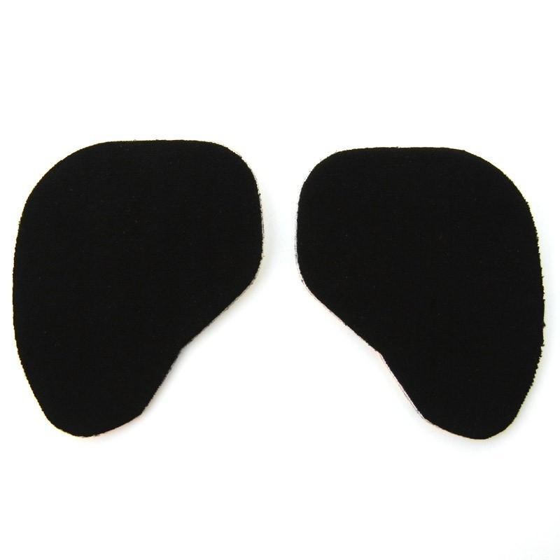 Gelové vložky do bot pro přední část nohy, Barva Černá