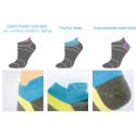 RUN sportovní ponožky s gelem a bambusovým vláknem