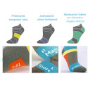 RUN sportovní ponožky s gelem