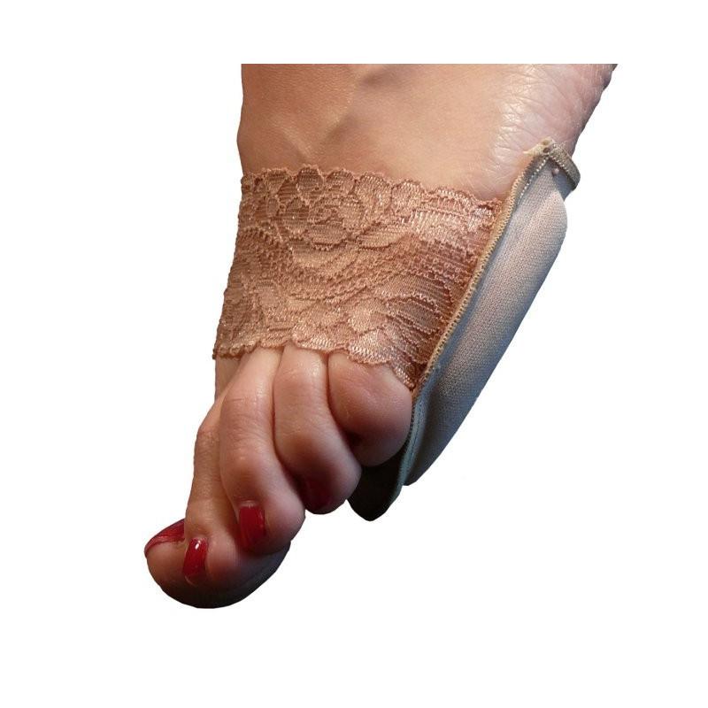 Gelové vložky do bot s krajkou, Barva Tělová