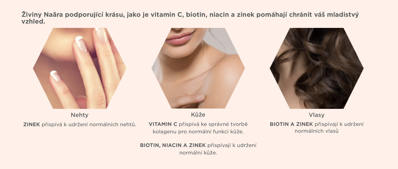 Zdravé nehty, vlasy a kůže