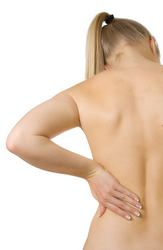 Bolest bočních zádových svalů bolest boků
